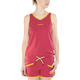 La Sportiva Flash Jumper Damen coral/sulphur